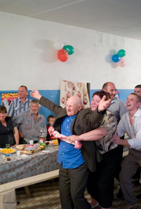 Rusiyada kənd toyu