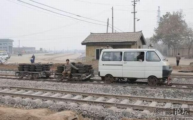 The railway in China