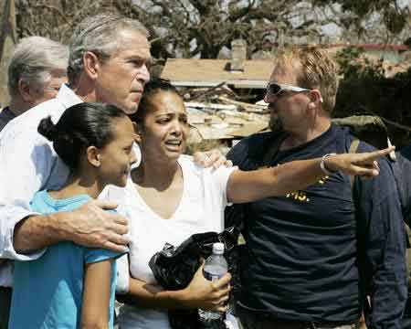 president bush and hurricane katrina essay