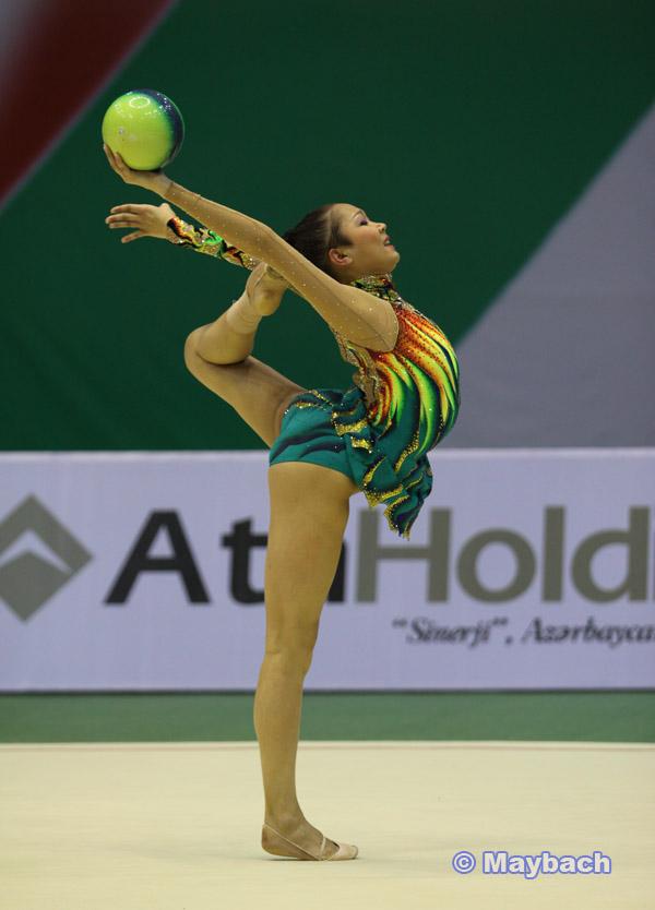 Bədii Gimnastika üzrə 25ci Avropa Çempionatı: Azerbaycan