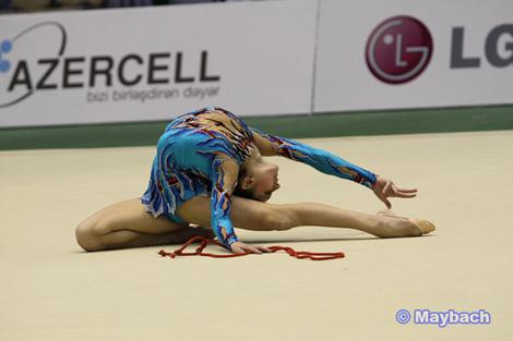 Bedii Gimnastika üzre 25ci Avropa Çempionatı: Azerbaycan